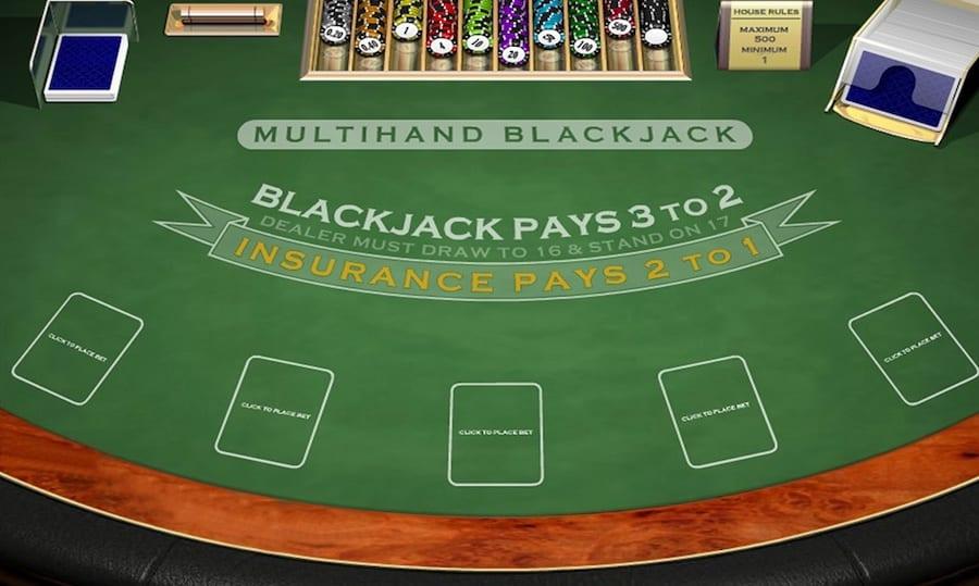 blackjack zasady gry
